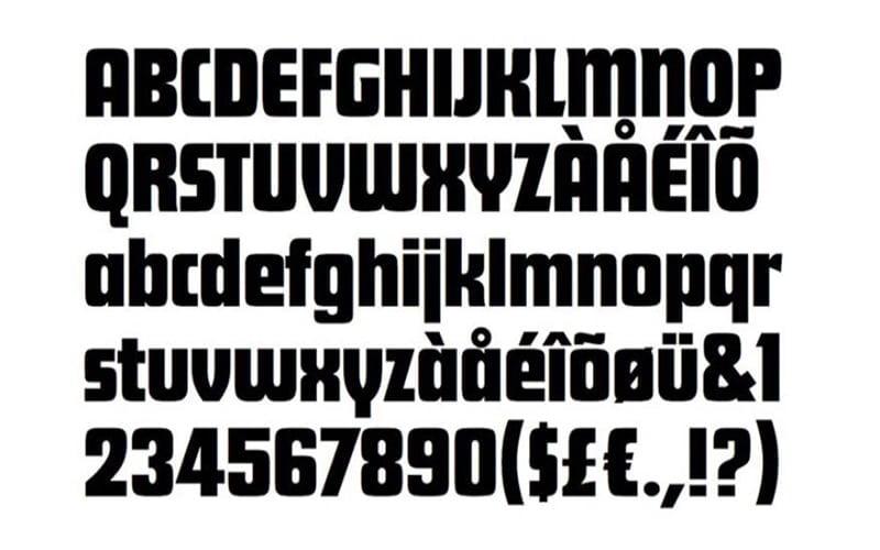 My Hero Academia Logo Font Free Download