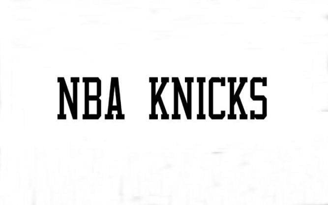NBA Knicks Font Family Free Download