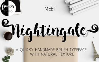 Nightingale Font Family Free Download