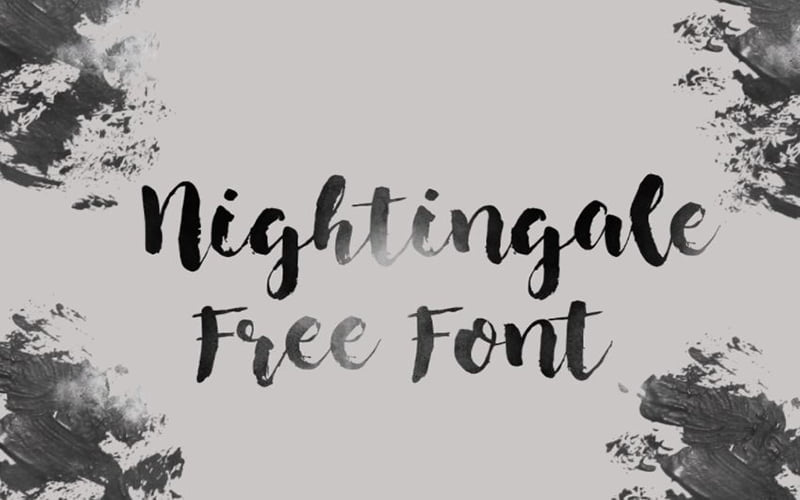 Nightingale Font Free Download