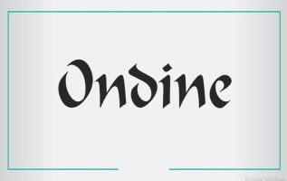 Ondine Font Family Free Download