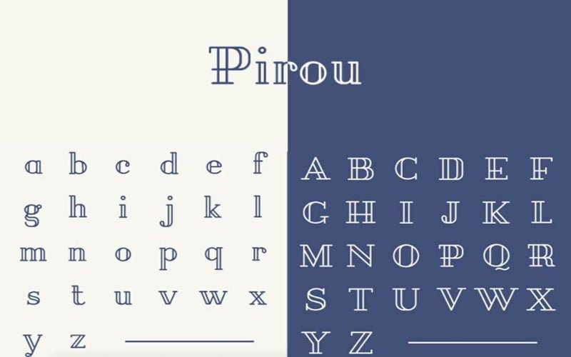 Pirou-Font-Family-Download