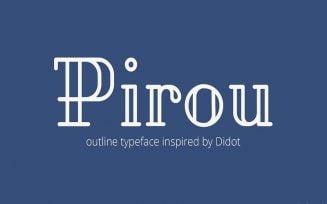 Pirou Font Family Free Download