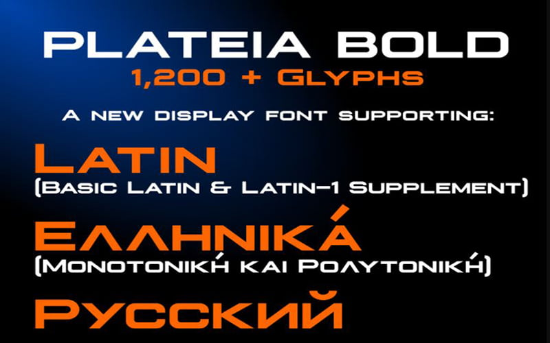 Plateia-Font-Family-Download