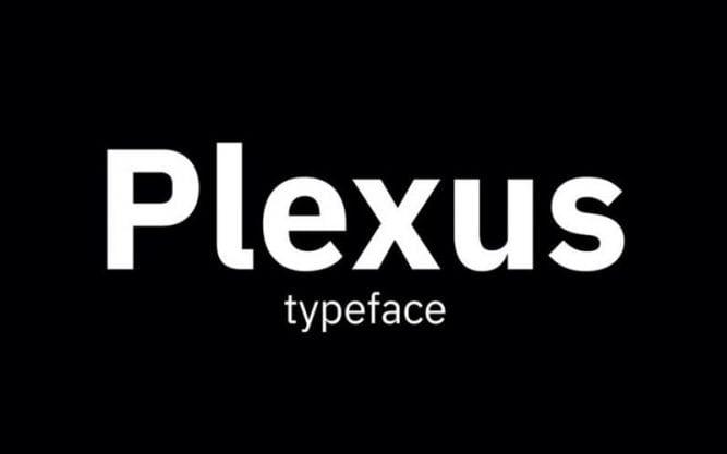 Plexus Font Family Free Download