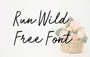 Run Wild Font Family Free Download