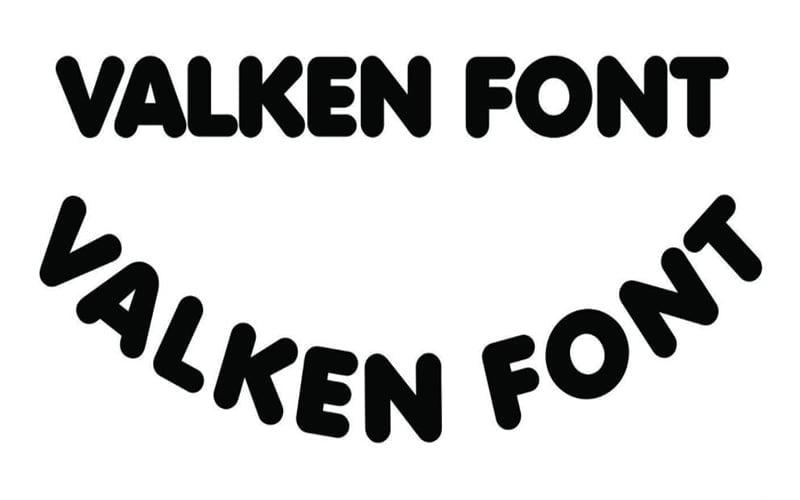 Valken Font Free Download