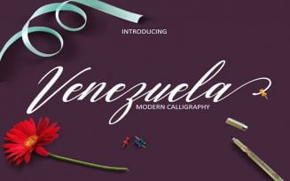 Venezuela Font Family Free Download