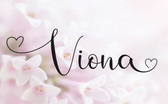 Viona Font Family Free Download