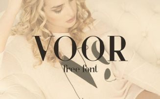 Voor Font Family Free Download
