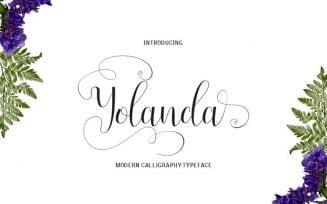 Yolanda Font Family Free Download