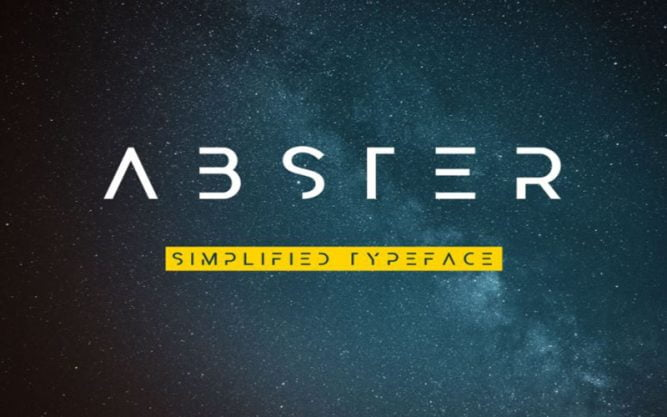 Abster Font Family Free Download