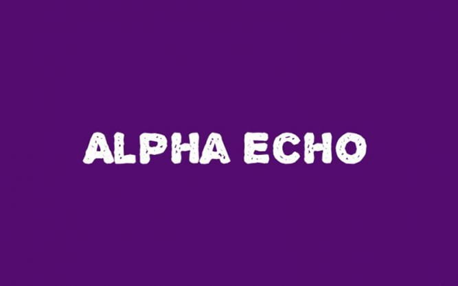Alpha Echo Font Family Free Download