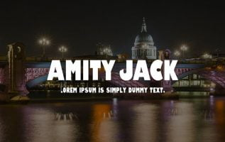 Amity Jack Font Family Free Download