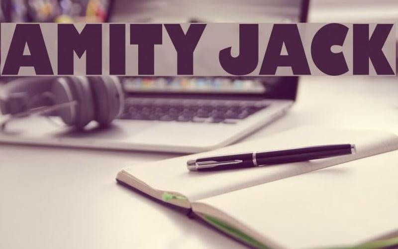 Amity Jack Font Free Download