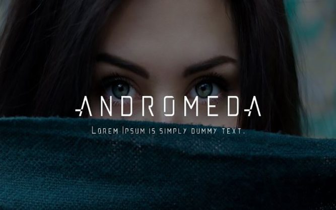 Andromeda Font Family Free Download