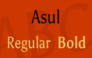 Asul Font Family Free Download