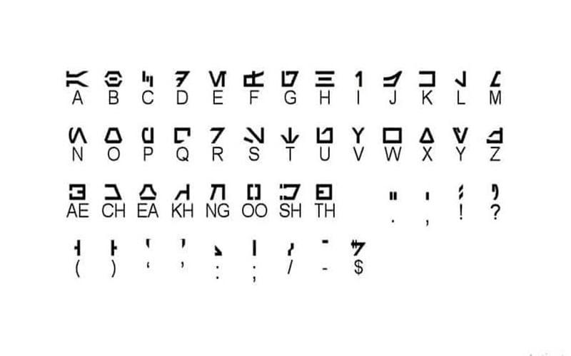 Aurebesh-Font-Family-Download