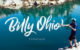 Billy Ohio Font Family Free Download