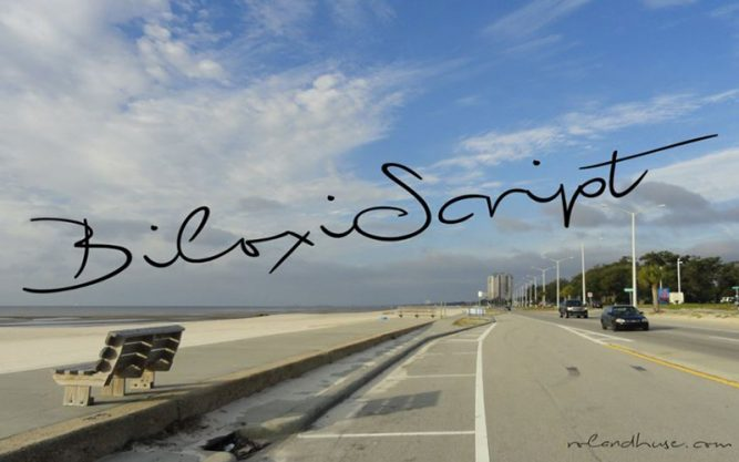 Biloxi Script Font Family Free Download