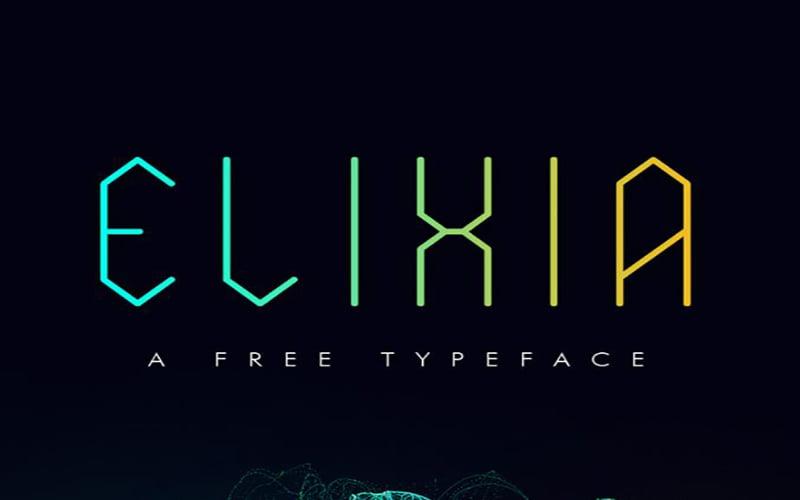 Elixia Font Free Download