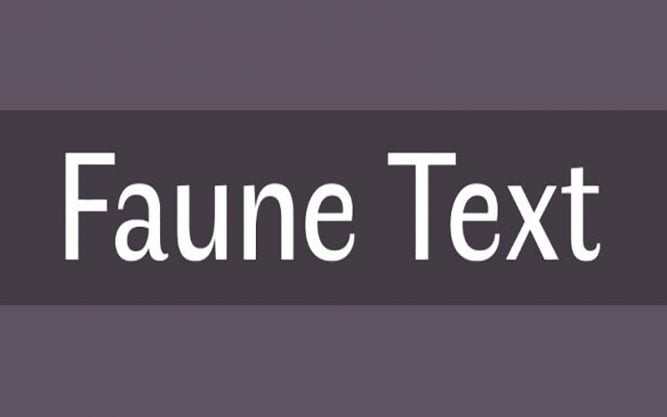 Faune Font Family Free Download