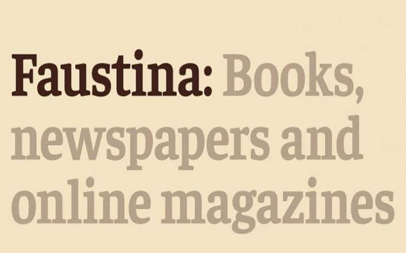 Faustina Font Free Download