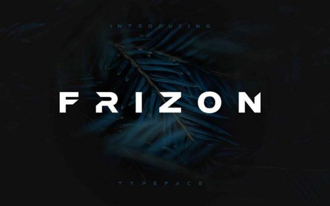 Frizon Font Family Free Download