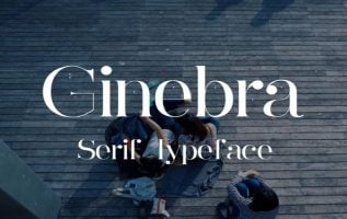 Ginebra Font Family Free Download