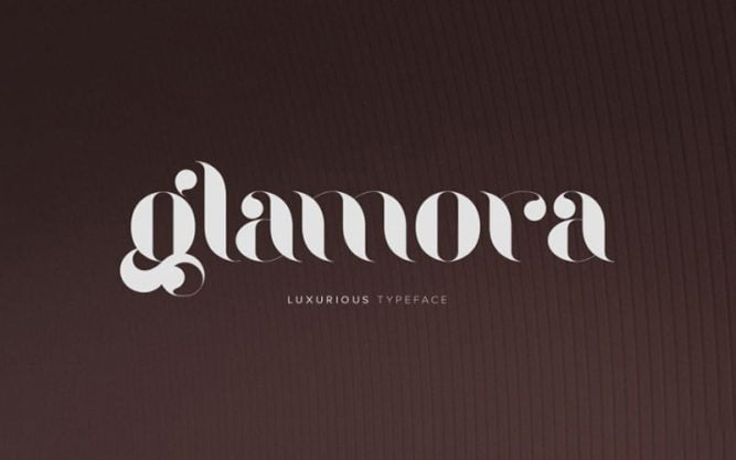 Glamora Stencil Font Family Free Download