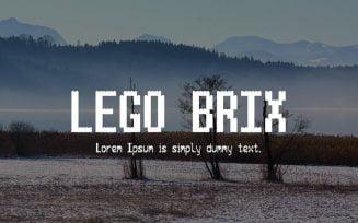 Lego Brix Font Family Free Download