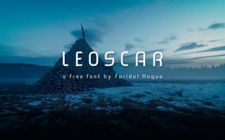 Leoscar Font Family Free Download