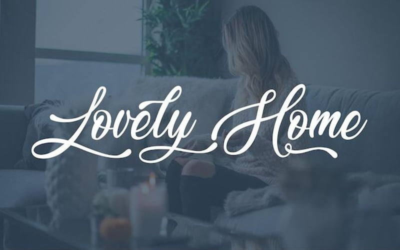 Lovely Home Font Free Download