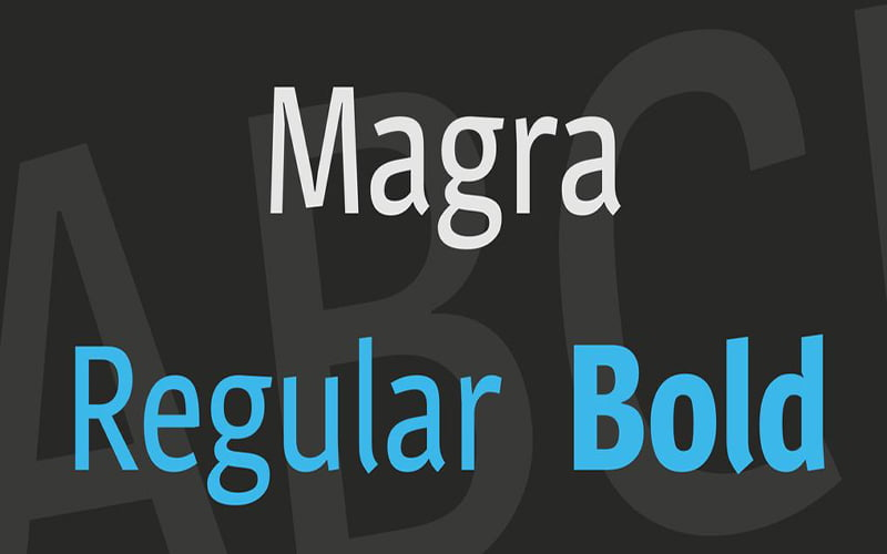 Magra-Font-Family-Download