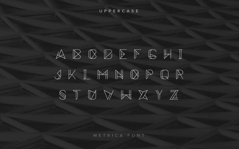 Metrica-Font-Family-Download