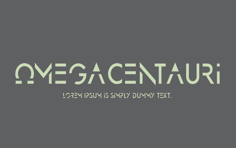 Omega-Centauri-Font-Family-Download