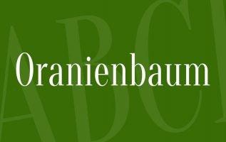 Oranienbaum Font Family Free Download