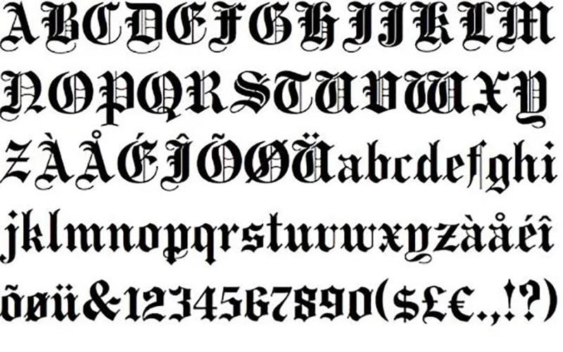 PlainBlack-Font-Family-Download