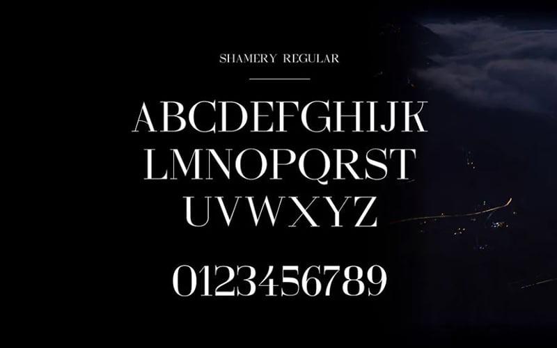 Shamery-Font-Family-Download