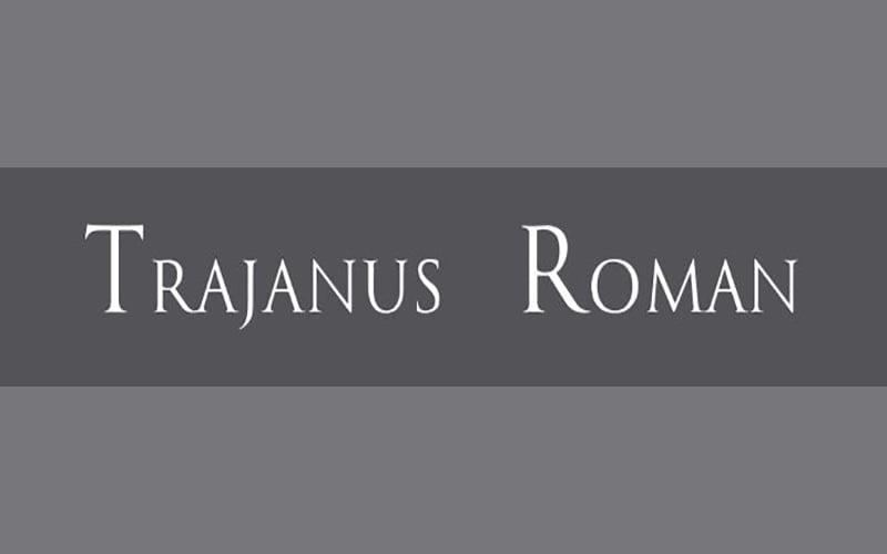 Trajanus Roman Font Free Download