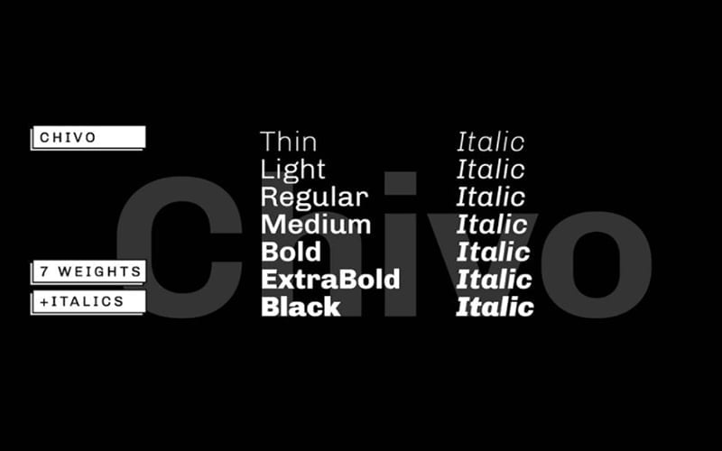 Chivo-Font-Family-Download